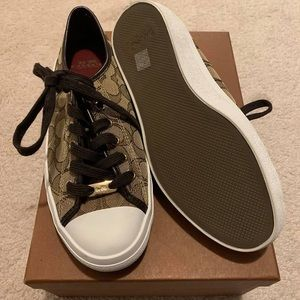 Brand New Woman's Coach Shoes/Sneakers.   Sz 7.5